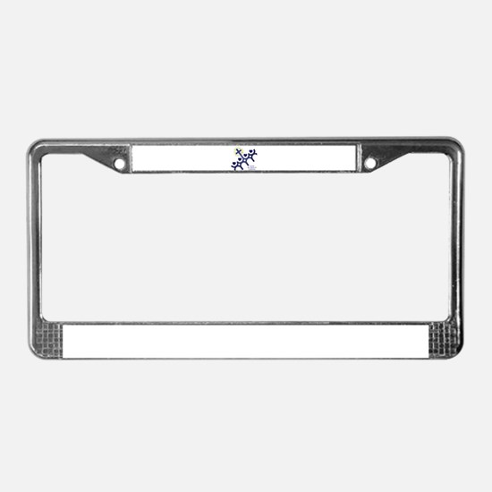 I love St. Francis School License Plate Frame