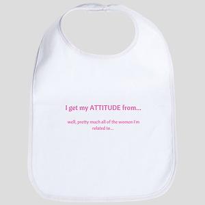 My Attitude P Baby Bib