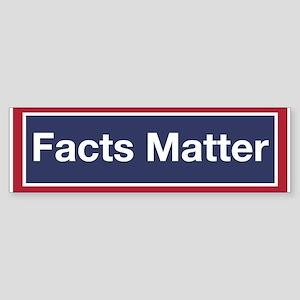 Facts Matter (bumper) Bumper Sticker