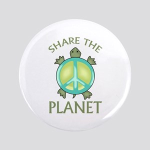 "SHARE THE PLANET 3.5"" Button"