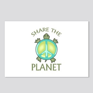SHARE THE PLANET Postcards (Package of 8)