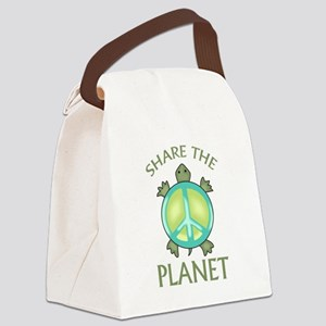 SHARE THE PLANET Canvas Lunch Bag