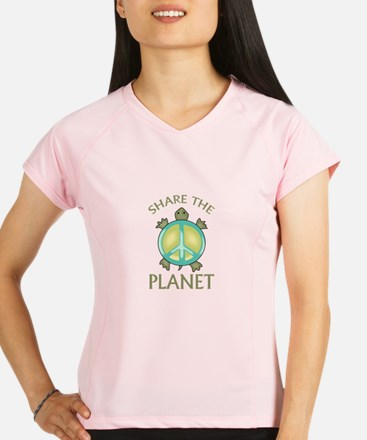 SHARE THE PLANET Performance Dry T-Shirt