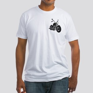 THE BITCH IS BACK! Fitted T-Shirt