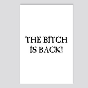 THE BITCH IS BACK! Postcards (Package of 8)