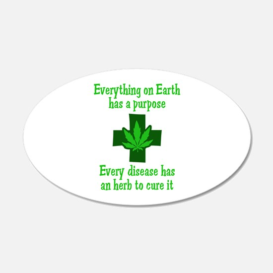 HERB TO CURE IT Wall Decal