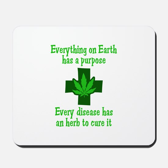HERB TO CURE IT Mousepad
