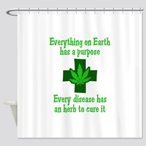 HERB TO CURE IT Shower Curtain