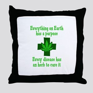 HERB TO CURE IT Throw Pillow