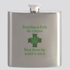 HERB TO CURE IT Flask
