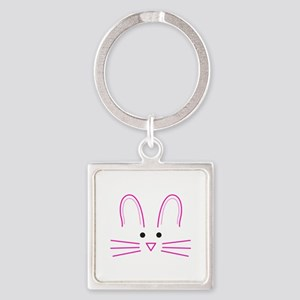 EASTER BUNNY FACE Keychains