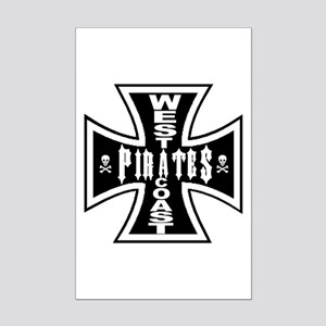 West Cooast PIRATES Mini Poster Print