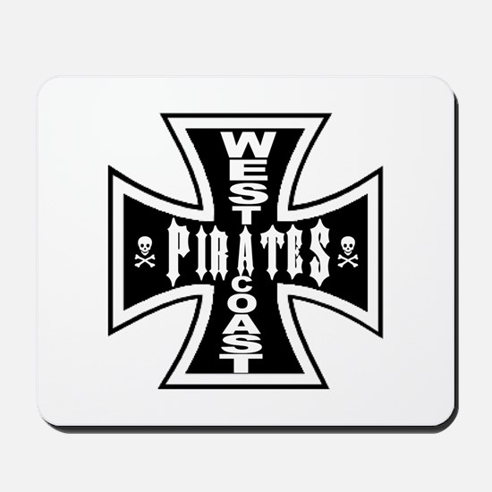 West Cooast PIRATES Mousepad
