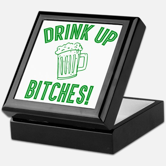 Drink Up Bitches Keepsake Box