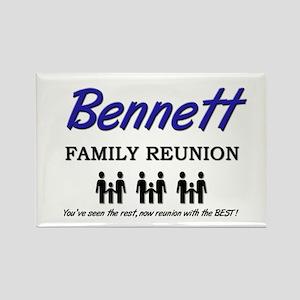 Bennett Family Reunion Rectangle Magnet
