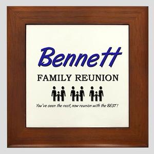 Bennett Family Reunion Framed Tile