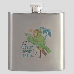 WASTIN AWAY AGAIN Flask
