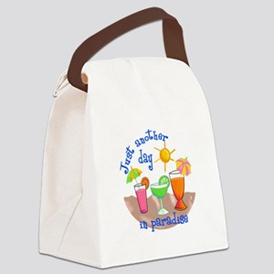 ANOTHER DAY IN PARADISE Canvas Lunch Bag