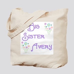 Big Sister Avery Tote Bag