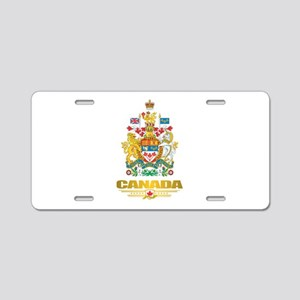 Canada COA Aluminum License Plate