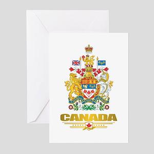 Canada COA Greeting Cards
