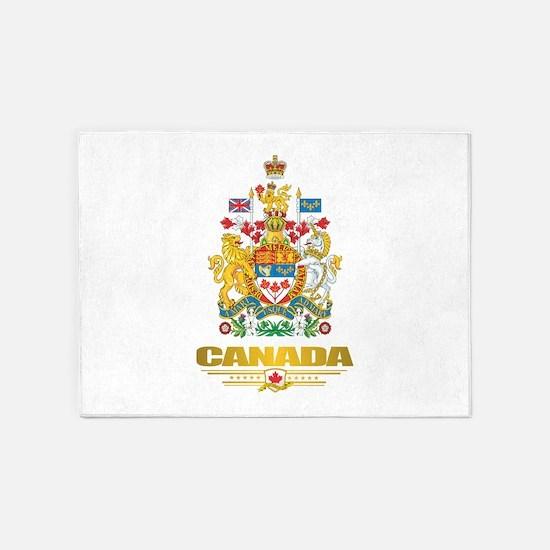 Canada COA 5'x7'Area Rug