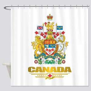 Canada COA Shower Curtain