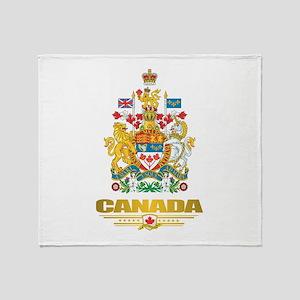 Canada COA Throw Blanket