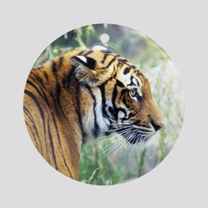 Siberian Tiger Ornament (Round)