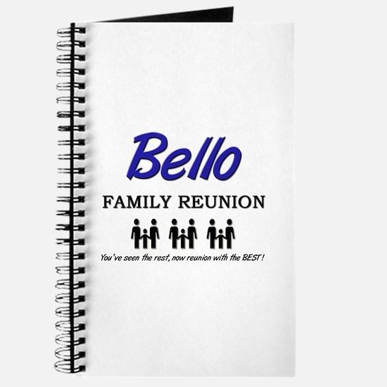 Bello Family Reunion Journal