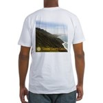 Sonoma County Coastline Fitted T-Shirt