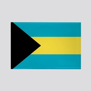 Bahamas Flag Rectangle Magnet
