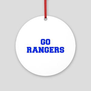 Rangers-Fre blue Ornament (Round)