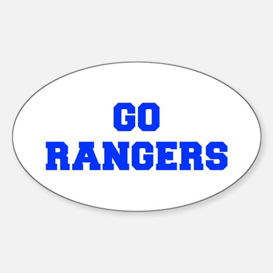 Rangers-Fre blue Decal