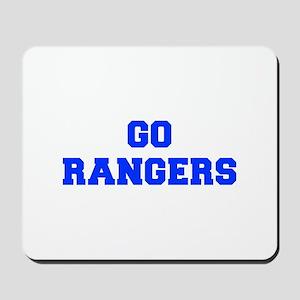 Rangers-Fre blue Mousepad