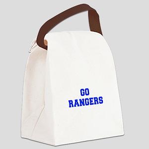 Rangers-Fre blue Canvas Lunch Bag