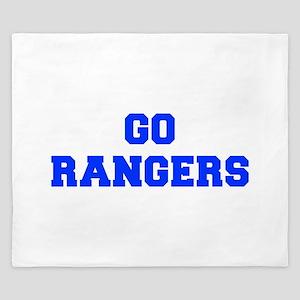 Rangers-Fre blue King Duvet