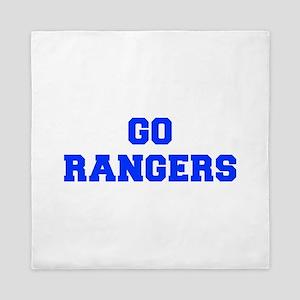 Rangers-Fre blue Queen Duvet