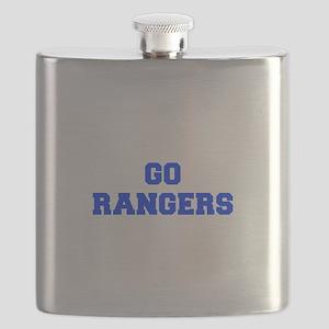 Rangers-Fre blue Flask