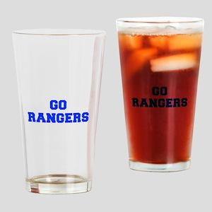 Rangers-Fre blue Drinking Glass