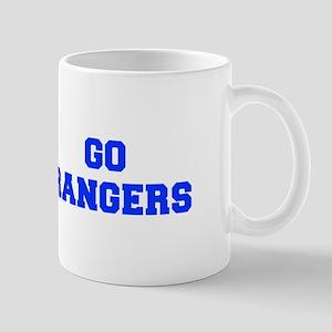 Rangers-Fre blue Mugs