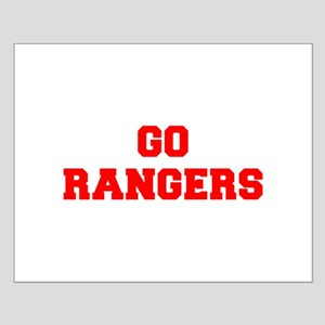 RANGERS-Fre red Posters