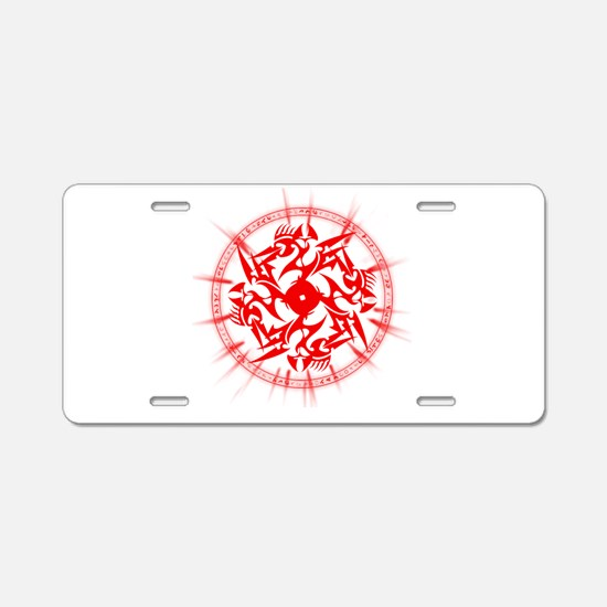 Nick Chronicles Aluminum License Plate