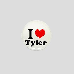 I Love Tyler Mini Button