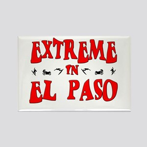 Extreme El Paso Rectangle Magnet