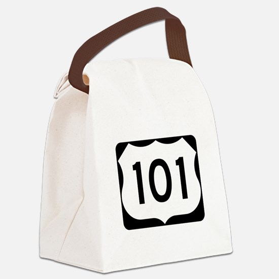 US Route 101 Canvas Lunch Bag