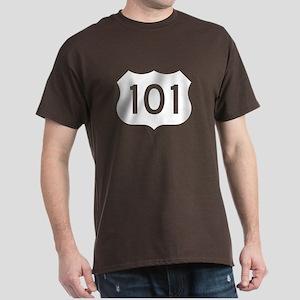 US Route 101 Dark T-Shirt