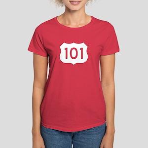 US Route 101 Women's Dark T-Shirt