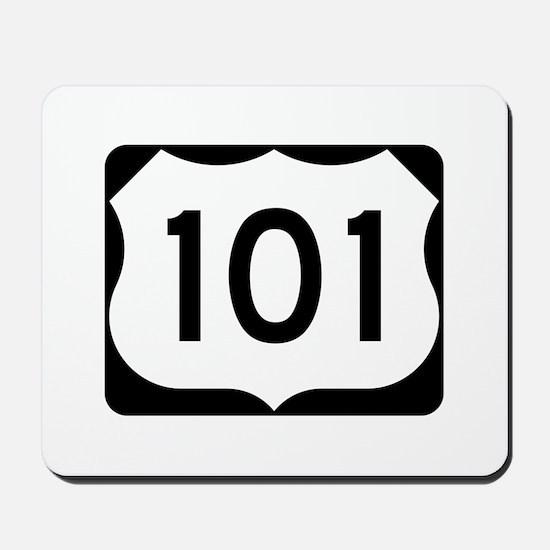 US Route 101 Mousepad