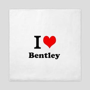 I Love Bentley Queen Duvet